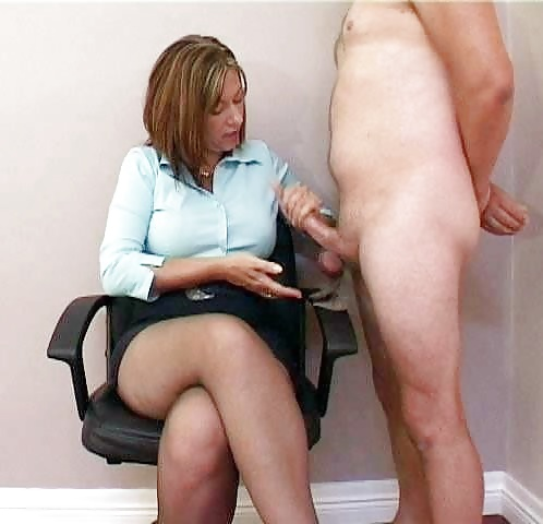 image Sexy wife gives a good morning handjob