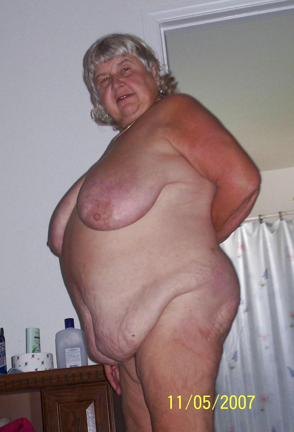 Fat Hairy Granny