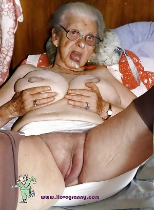 Very old granny - Sexy chubby granny - Hanging tits granny