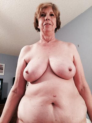 66 year Old Jenn Shows Her Pussy